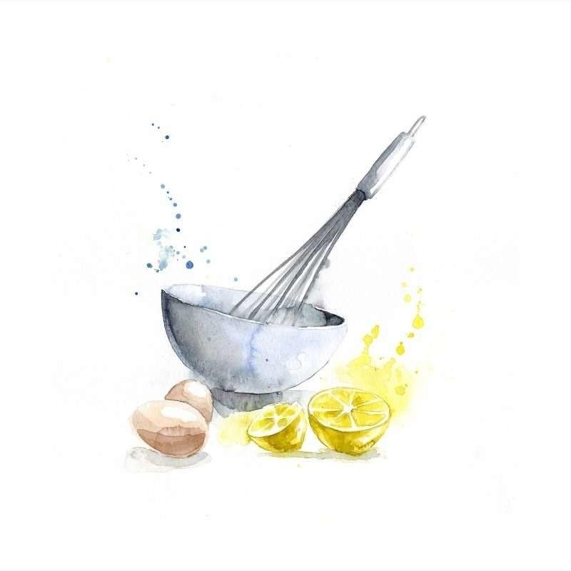 un zeste de citron blule